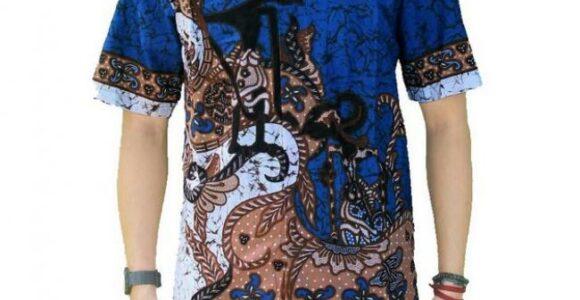 Baju Batik Pria Kombinasi Dari Etnikita