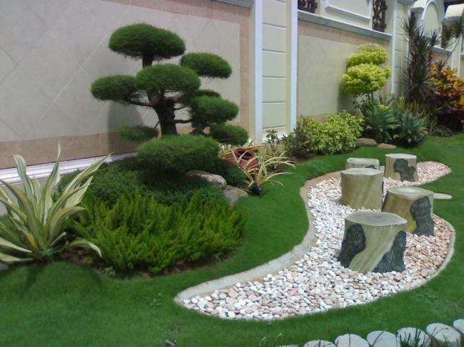 Tips Dekorasi Taman Minimalis Dengan Tanaman Bonsai
